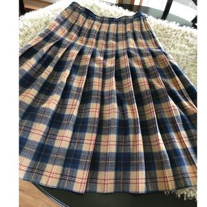 Pendleton Vintage Authentic Cailean Tartan Skirt